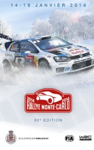 Monte Carlo.82. Rallye von Monte Carlo vom 14.-19. Januar 2014