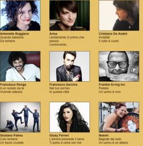 63. Festival von San Remo 2014. Die Interpreten und ihre Songs