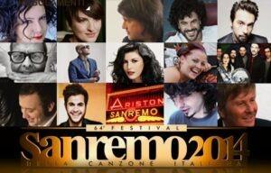 San Remo. 63. Festival della Canzone. Die ausgewählten Interpreten.