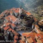 Apricale im Hinterland der italienischen Riviera