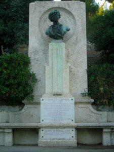 Bordighera, Charles Garnier. Urlaub an der italienischen Riviera in Ligurien