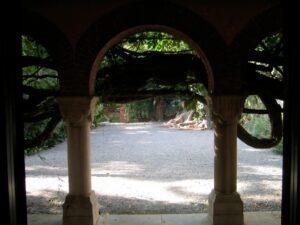 Bordighera, im Urlaub an der italienischen Riviera in Ligurien. Bicknell Museum