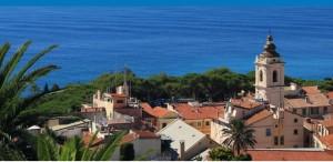 Bordighera. Urlaub an der italienischen Riviera in Ligurien