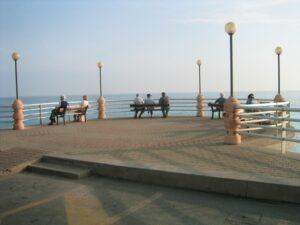 Bordighera. Urlaub im Ferienhaus an der italienischen Riviera in Ligurien.