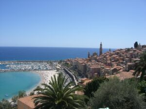 Menton. Die Perle der Côte d'Azur.