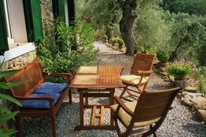 Ferienhaus in Ligurien. Casa Rochin bei Dolceacqua. Im Urlaub an der italienischen Riviera .