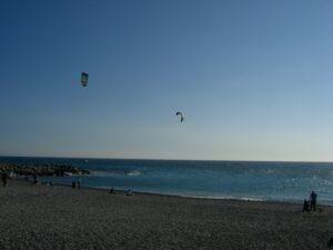 Bordighera KitesurferUrlaub an der italienischen Riviera im Ferienhaus in Ligurien