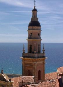 Menton an der französischen Riviera.Kathedrale Sain Michel