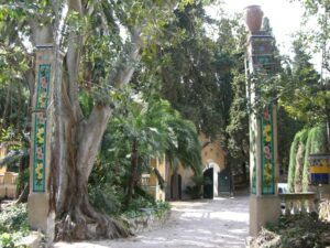 """Menton. Botanischer Garten """"Fontana Rosa"""". Urlaub an der italienischen Riviera in Ligurien"""