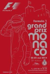 72e Grand Prix de Monaco vom 22.- 25. Mai 2014