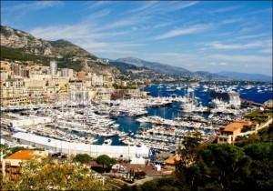 Monte Carlo. Port Hercule. Urlaub an der italienischen Riviera im Ferienhaus in Ligurien