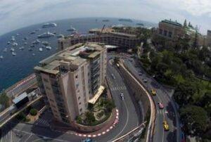 Monte Carlo, Teil der Rennstrecke