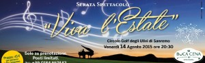 """San Remo Golf degli Ulivi """"Viva l'Estate"""""""