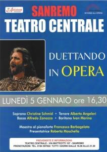 San Remo. Ritorno all'opera. Urlaub an der italienischen Riviera in Ligurien