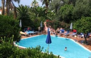 Badespaß in Hotel Villa Elisa Bordighera