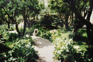 Bordighera, der Garten von Villa Elisa