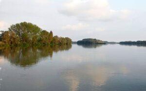 Der Po, größter Fluss Italiens