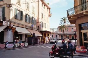 Bordighera, italienische Riviera, Corso Italia Ecke Via Vittiorio Veneto