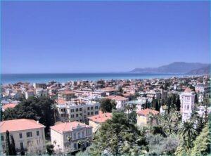 Bordighera Webcam Villa Regina Margherita. Urlaub an der italienischen Riviera