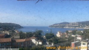 Villefranche. Hafen für Kreuzfahrtschiffe.. Urlaub an der italienischen Riviera im Ferienhaus in Ligurien.