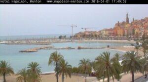 Webcam Hotel Napoleon Menton