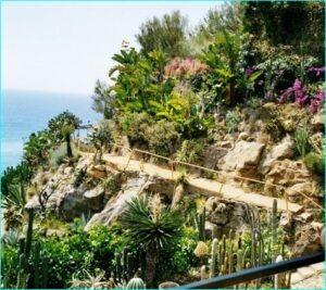Bordighera. Exotischer Garten Pallanca. Unser Ferienhaus in Ligurien an der italienischen Riviera