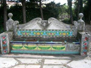 Menton. Jardin Fontana Rosa. Urlaub an der italienischen Riviera im Ferienhaus in Ligurien