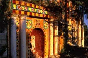 Menton. Jardin Fontana Rosa. Urlaub im Ferienhaus bei Dolceacqua in Ligurien an der italienischen Riviera