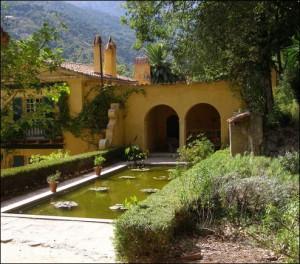 Menton. Serre de la Madonne. Urlaub an der italienischen Riviera im Ferienhaus in Ligurien