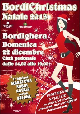Weihnachten in Bordighera. Urlaub in Ligurien an der italienischen Riviera