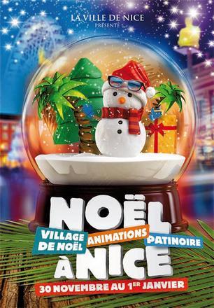Weihnachten in Nizza.