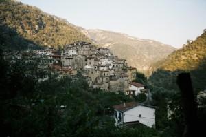 Airole.Dorf im Hinterland der Riviera di Ponente