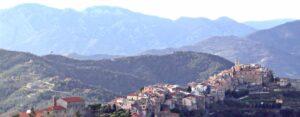 Perinaldo im Hinterland der Riviera di Ponente