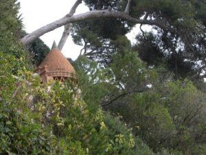 Spazierweg Le Corbusier von Menton nach Monaco. Ferien an der Riviera di Ponente in Ligurien