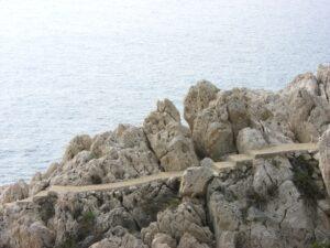 Spazierweg Le Corbusier. Von Menton nach Monte Carlo. Urlaub an der italienischen Riviera in Ligurien