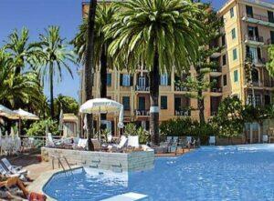 Grand Hotel De Londres. San Remo. Urlaub an der italienischen Riviera