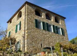 Terre Bianche oberhalb von Dolceacqua in Ligurien