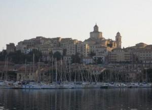 Imperia an der italienischen Riviera in Ligurien