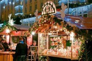 Weihnachtsmarkt in Bordighera