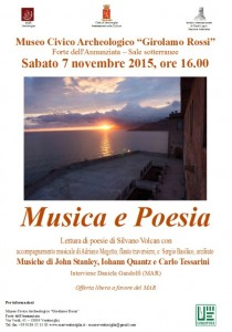 Musica e Poesia in Ventimiglia an der italienischen Riviera