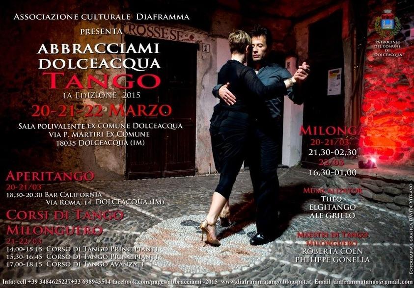 Dolceacqua in Ligurien. Wir tanzen Tango