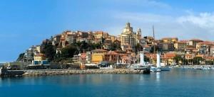 Imperia an der italienischen Riviera