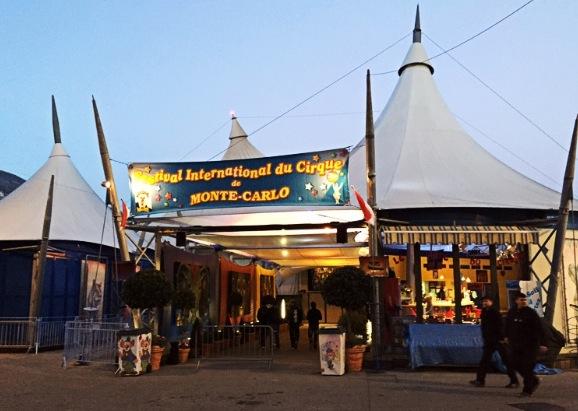 Das Chapiteau von Fontvieille im Fürstentum Monaco