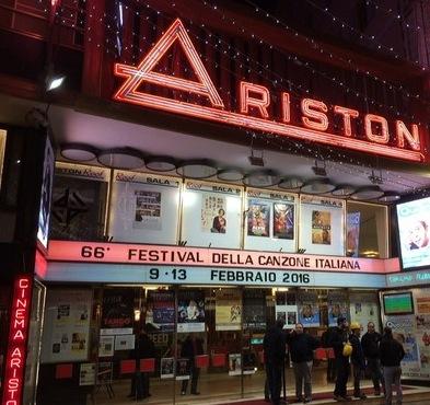 Das 66. Musikfestival von San Remo findet wie immer im Theater Ariston statt.