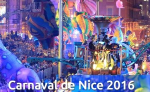 Karneval in Nizza vom 13. - 28. Februar 2016