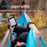 Kindle Paperwhite mit integrierter Beleuchtung