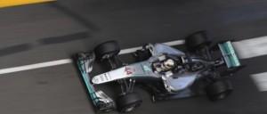Lewis Hamilton Mercedes Platz 1