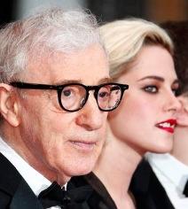 Woody Allen und Kristen Stewart