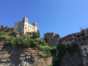 Dolceacqua. Die Doria Burg