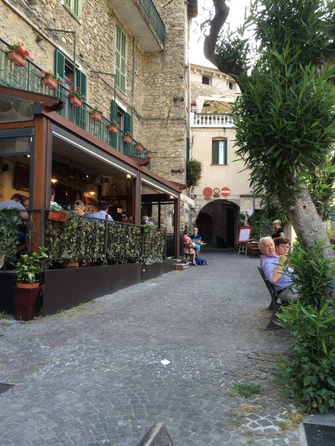 Pizzeria La Rampa in Dolceacqua